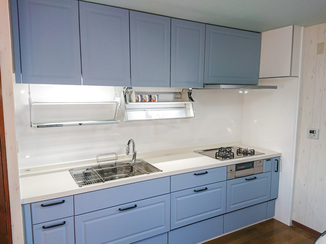 キッチンリフォーム オシャレで機能性も充実したお気に入りのキッチン