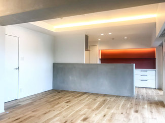 マンションリフォーム 壁や天井をスッキリさせスタイリッシュな印象に仕上げたマンションリフォーム