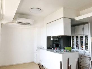 内装リフォーム 全部屋の壁紙を張り替え、まるで新築のように綺麗になったマンション
