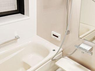 バスルームリフォーム お手入れが簡単でキレイが続くバスルーム