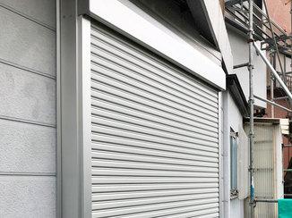 エクステリアリフォーム 大規模な台風など異常気象から窓を守るシャッター