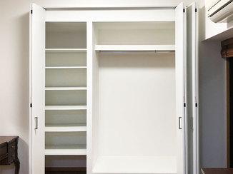 内装リフォーム お部屋の雰囲気とマッチするクローゼット