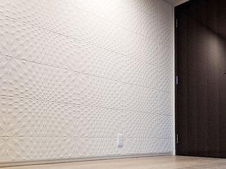 内装リフォーム 快適な睡眠のために調湿する壁材で仕上げた寝室