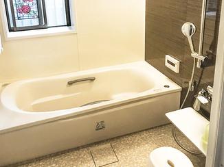バスルームリフォーム 配色にこだわった快適なバスルーム